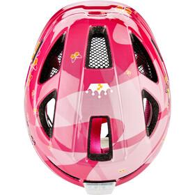 Cube Lume Helmet Kids pink princess